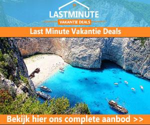 lastminute vakantie deals banner